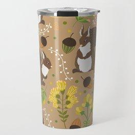 Chocolate squirrels Travel Mug