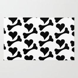 Heart & Bone pattern Rug