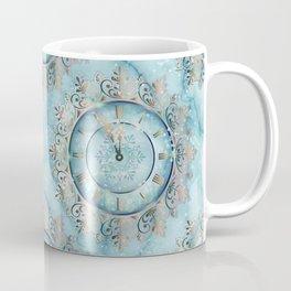 Clock Christmas mandala Coffee Mug