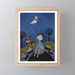 Henry and Adele Framed Mini Art Print