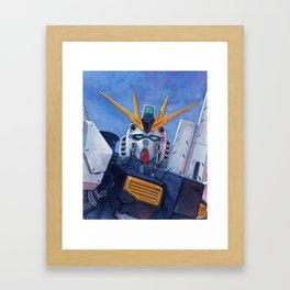Nu Gundam 2 Framed Art Print