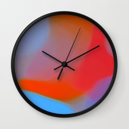 Diffuse colour Wall Clock