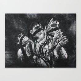 Tied to Burdens Canvas Print