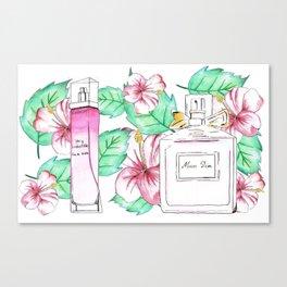 Perfumes Series 4 Canvas Print