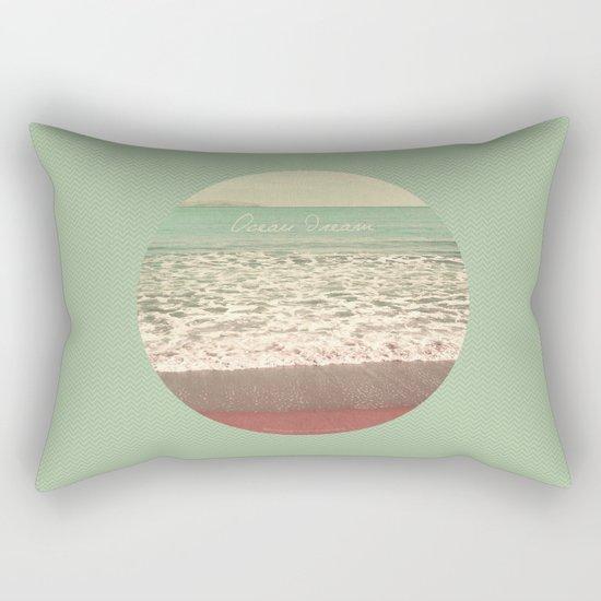 Ocean Dream I Rectangular Pillow