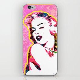 Marilyn | Splatter Series | Monroe | Pop Art iPhone Skin