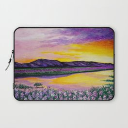 Purple Sunset Laptop Sleeve