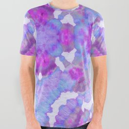 Sweet Pea Tie-Dye All Over Graphic Tee