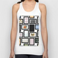 frames Tank Tops featuring Wall of Frames by Natalie North