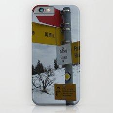 Swiss Adventure Slim Case iPhone 6s