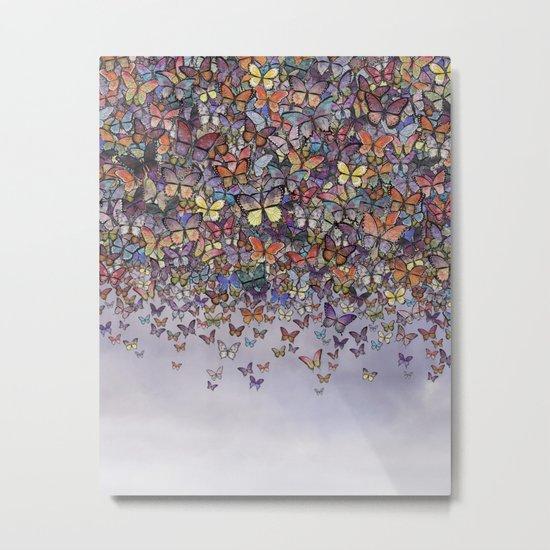 butterfly cascade Metal Print