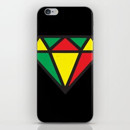 Reggae Diamond iPhone Skin
