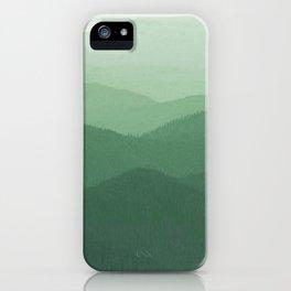 Hunter Mountain summer iPhone Case