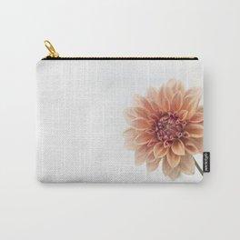 Dahlia Flower Carry-All Pouch