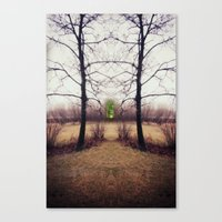 portal Canvas Prints featuring Portal by KunstFabrik_StaticMovement Manu Jobst