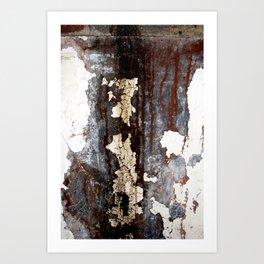 Cracked Paint 9 - CoOperative Art Print