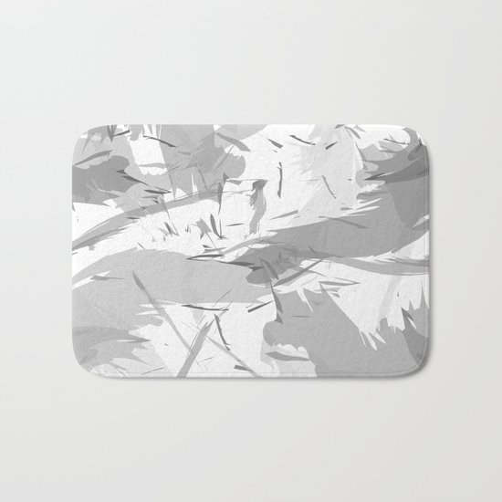 Abstract composition. Creative chaos Bath Mat