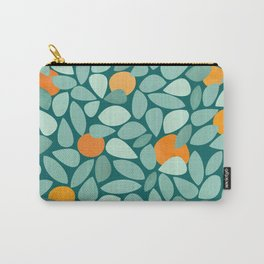 Sunny Orange Grove Carry-All Pouch