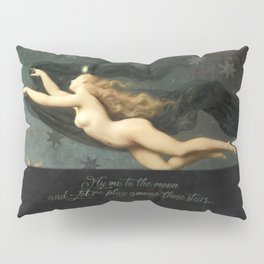 """Fly me to the moon"" Pillow Sham"