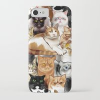 tigger iPhone & iPod Cases featuring Tigger by EggsBFF