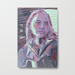 Claire Novak Metal Print