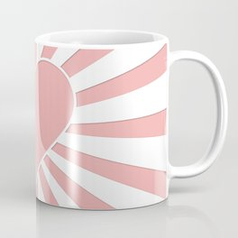 Blush Pink Valentine Sweetheart Love Explosion Coffee Mug