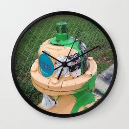 Fire Hydrant Wall Clock
