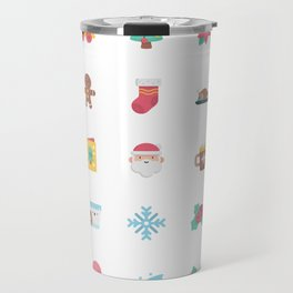 CUTE CHRISTMAS HOLIDAYS WINTER PATTERN Travel Mug