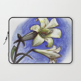 Easter Lily Laptop Sleeve