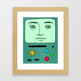 BMO kinda Framed Art Print