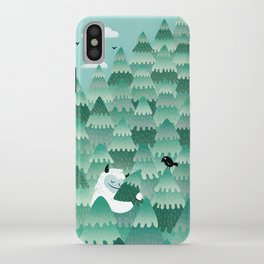 Tree Hugger (Spring & Summer version) iPhone Case
