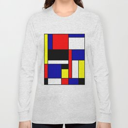 Mondrian #70 Long Sleeve T-shirt