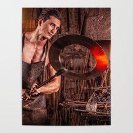 Sexy Blacksmith Poster
