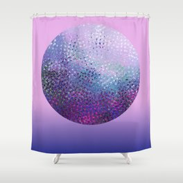 Galatic Sphere Shower Curtain