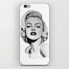 Marilyn Monroe portrait iPhone & iPod Skin