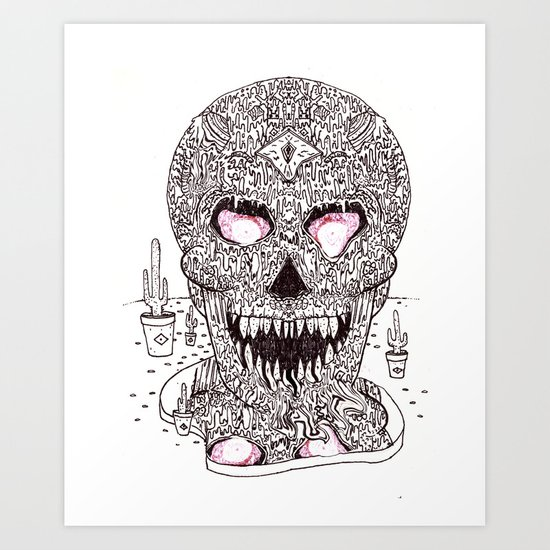 Nick Bright Art Print