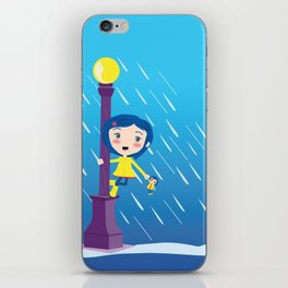 Singin' in the rain iPhone Skin