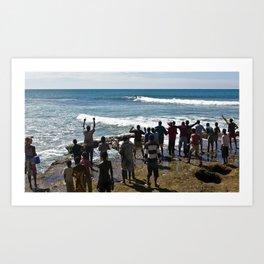 surfEXPLORE Mozambique Art Print