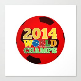 2014 World Champs Ball - Japan Canvas Print