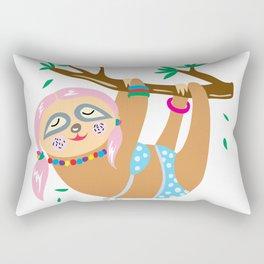 Sexy Sloth Rectangular Pillow