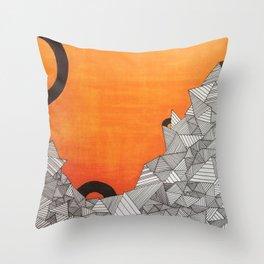 landscape I Throw Pillow