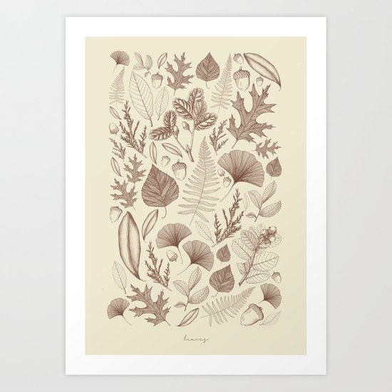 Study of Growth Art Print