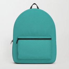 Verdigris - solid color Backpack