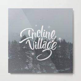 Incline Village Metal Print