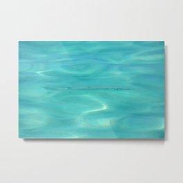 Fish Swimming in the Ocean Metal Print