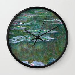 Water Lilies Claude Monet 1904 Wall Clock
