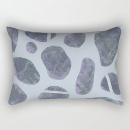 Stones, Pebbles, Rocks Rectangular Pillow