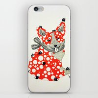 corgi iPhone & iPod Skins featuring Corgi. by ruffgaws