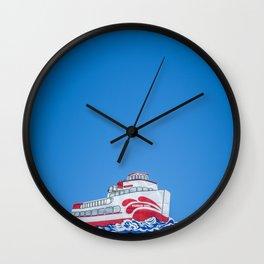 Little boat Wall Clock