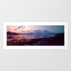 Portland, Maine (panoramic) Art Print